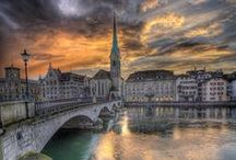 Zurich / I love Zurich. Clam, safe, small, clean, 1st class services of every kind, especially banking.
