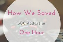 Saving Money / Tips on how to save money