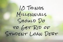 Reduce Debt / Tips on how to pay off debt and live a debt-free life