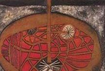 Cecil Skotnes, South Africa / Cecil Skotnes (1926 – 4 April 2009) was a prominent South African artist.        http://cecilskotnes.com/
