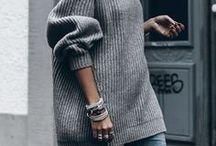 S w e a t e r s / Cozy outfit ideas for winter time you should get ASAP