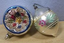 ☃ shiny brite / + other antique/vintage ornaments; german, nordic, & irish ornaments...and a few others I just like ♥