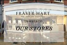 Travels To...Our Stores / To find your closest Fraser Hart store visit our website on http://www.fraserhart.co.uk/ustorelocator/location/map/