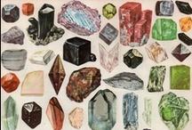 Gemstones / Gemas preciosas / Visita el maravilloso mundo de las gemas naturales, en bruto o talladas. El color de la naturaleza en una piedra.
