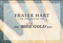 The 'Rose Gold' Edit / Have you fallen as deeply in love with rose gold as us? Scroll through our board dedicated to some of the most sumptuously gorgeous rose gold pieces out there! Shop the full range at http://www.fraserhart.co.uk/landing-pages/rose-gold-jewellery.html?limit=36