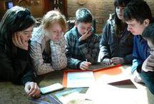 COMENIUS: Laureat w kategorii instytucjonalnej / Publiczne Gimnazjum nr 1 im. Jana Pawła II w Krempachach za projekt Maths on Earth!