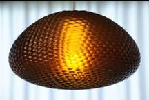 Dragonfly.MGX / The Dragonfly.MGX pendant light draws inspiration from the curved honeycomb structure of insect eyes and their optical qualities. The fascination for us lies within its complex three dimensional array of photoreceptor cells or in this case light emitting cells.  Dragonfly.MGX is taking functional requirements like glare shielding and direct/indirect light into consideration.   http://www.werteloberfell.com