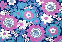 Vintage: Fabric & Wallpaper / by Gertrude Kolessar Hess