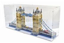 Display Cases for Lego / Various displays for Lego sets, designed by Pure Display.