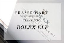 Travels To... Rolex V.I.P / Our Rolex V.I.P in-store events brought the skilled craftsmanship of Rolex into the hands of our experienced sales staff. Selected guests were invited to browse the new Baselworld collection, help themselves to a glass of champagne and ask any questions they may have.