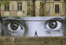 Libre expresión artística / Ilustraciones y afiches de la vía pública