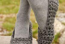 Knit & Crochet Slippers