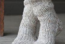 Knit Socks & Legwarmers