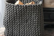 Knit & Crochet Baskets