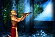 Chroniques oubliées / Images illustrant mon histoire fantasy