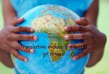 Translation / Everything about what I love and what I do best - translation.