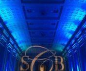 Key Hall at Proctors - Music Man Entertainment Monogram & Up Lighting / Monogram & Up Lighting @ Key Hall (Schenectady, NY) www.MusicManEntertainment.com / 518-842-4065