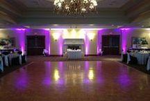 Turning Stone Resort & Casino - Music Man Entertainment Up Lighting / Up Lighting @ Turning Stone Resort & Casino (Verona, NY)  www.MusicManEntertainment.com / 518-842-4065