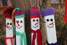 Winter / crea-actviteiten voor de winter