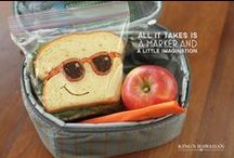 Make Lunch Fun! / Adding a little something unexpected to your kids' lunch can go a long way to make them feel special! Save these ideas for some back-to-school fun.  / by King's Hawaiian