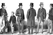 Victorian costume / Images of Victorian era (1837-1901) clothing fashions for men, women and children.