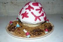 Birthday Cake / Birthday cakes I made myself for my kids. Des gâteaux d'anniversaire fait moi-même pour mes enfants.
