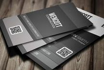 Business Cards / The most important tool for you, especially when making first impressions.
