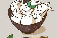 Totoro / I love to Totoro! <3