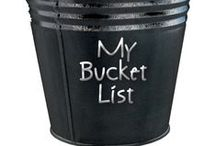 Bucket List :) / Some that I HAVE done & some that I WILL do! / by Kimberly Solgat