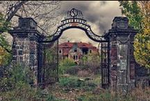 Favorite Places & Spaces / Abandoned places...and other places I love.