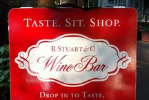 At the Wine Bar / A glimpse into our wine bar on third street in McMinnville. Come visit us at 528 NE 3rd St. We hope to see you soon! http://www.rstuartandco.com/visit/
