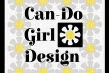 Can-Do Girl Designs /  Surface Pattern Designer with a Can-Do Girl attitude! Bright & Bold fabric collections for your Quilting & DIY Sewing projects! / by Can-Do Girl Design