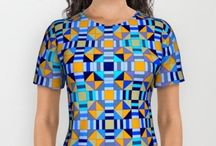 """All Over Print T-Shirts / """"My Fashionation"""" is a lifestyle brand that offers freshly unique yet trend friendly design to decorate your life...be it fashion, accessories, or your home!  / by Can-Do Girl Design"""