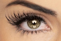 Ooh la la lashes / Long, thick, dark, colored, authentic or false - all ooh la la lashes.