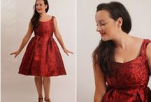 BILLIE JEAN DRESS / Based in Melbourne, Australia -  Bluegingerdoll designs and creates vintage inspired sewing patterns for the modern woman. Taking inspiration from an era that celebrated the female figure, the designs are flattering, and accentuate all  the right curves, on all figures.