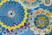 Fabric - Mandelas / by Can-Do Girl Design