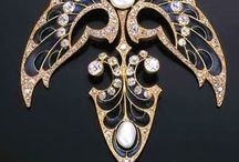Art Nouveau Jewelry, Vases, Lamps, Etc. / by Can-Do Girl Design
