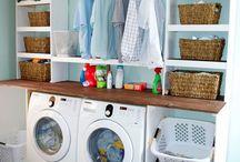 Washer woman / Laundry stuff