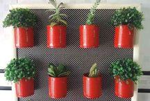 Gardening ideas - red