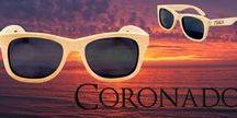 Coronado Wayfarer Style Wood Sunglasses / MakaWear Coronado Wayfarer Style Wood Sunglasses