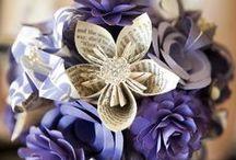 Flores Recicladas / Flores artesanales y para toda la vida, elaboradas con materiales reciclados. / by Ecomania