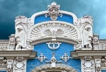 Arquitectura, Art Nouveau y Art Deco / Arquitectura y decoración de las primeras décadas del siglo XX / by Ecomania