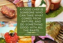 Words to Eat By / A few of our favorite quotes about food and drink.