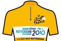 Tour de France, Grand Départ Rotterdam 2010 / In 2010 mocht de gemeente Rotterdam de Grand Départ voor de TDF verzorgen. In de aanloop hiernaar toe werden er 'n jaar lang fietsactiviteiten door het hele land gehouden. Van jong tot oud heeft virtueel de Erasmusbrug kunnen beklimmen of de ronde door Rotterdam op de wielertafel kunnen rijden.