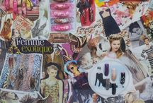 CND Shellac Nail Design and other materials / Love to display my designs on a moodboard. So here it is!