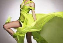 Vibrant Colors / Women's Fashion. Vivid,vibrant, and bright colors