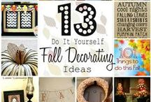 Autumn  / Books to read and activites to do  this fall season.