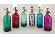 Seltzer Bottle Collection / Cool Seltzer Bottles and Pendant Lighting and Seltzer Vessels available at TheSeltzerShop.com
