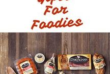 Gifts for Foodies / No judgment. We like a healthy obsession ... with food. Some gift ideas for those who feel likewise.
