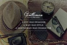 Gentlleman Rules / Rules for every gentleman.